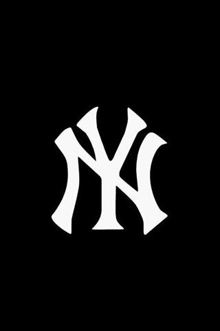 NYY Logo iPhone Wallpaper