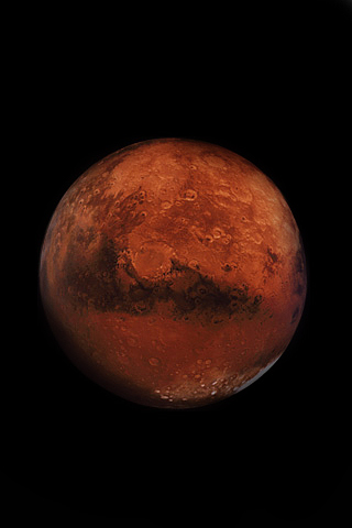 Mars IPhone Wallpaper