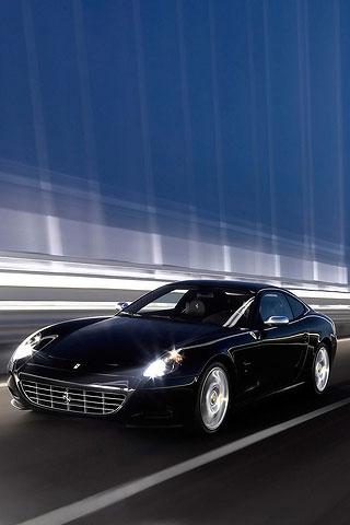Black Car iPhone Wallpaper