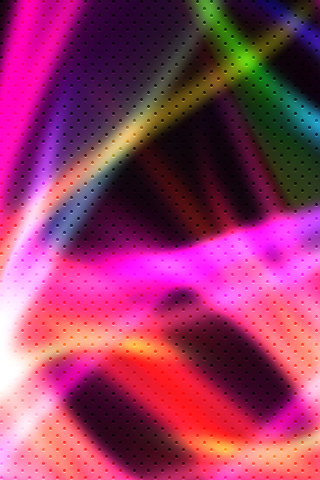 Laser Dots iPhone Wallpaper