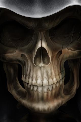 Death iPhone Wallpaper