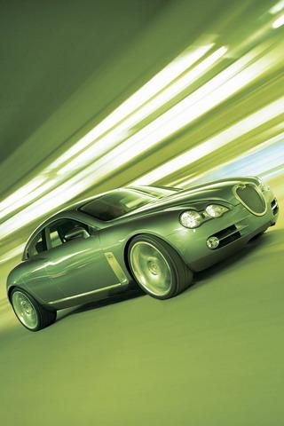 Fast Car iPhone Wallpaper