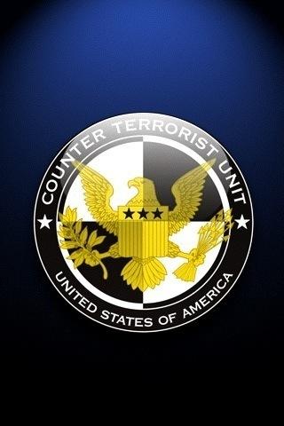 Counter Terrorist Badge iPhone Wallpaper