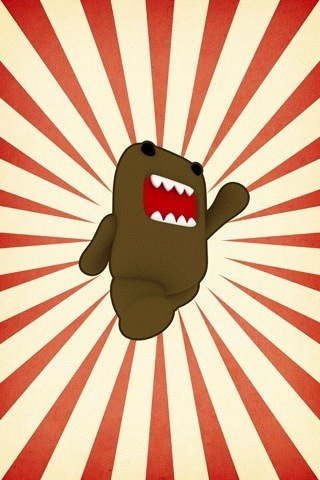 Domo Power iPhone Wallpaper