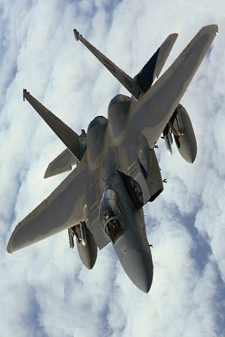 Fighter Jet iPhone Wallpaper
