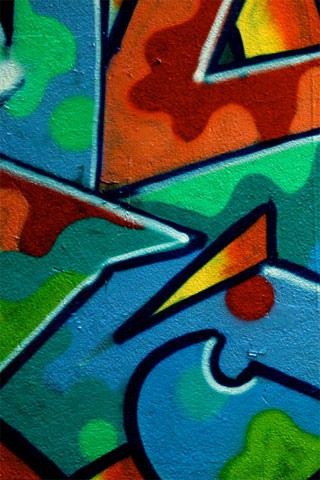 Grafitti iPhone Wallpaper