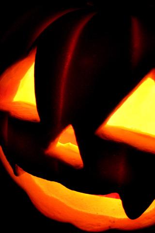 Halloween Pumpkin iPhone Wallpaper