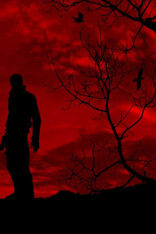 Red Sky iPhone Wallpaper