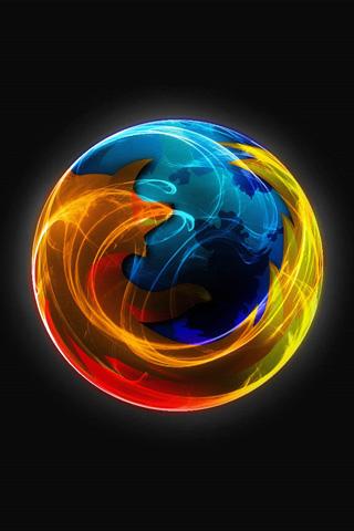 Firefox iPhone Wallpaper