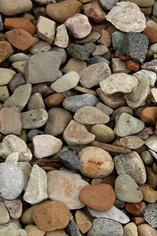 Rock Bed iPhone Wallpaper