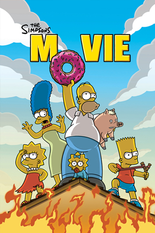 The Simpsons Movie iPhone Wallpaper