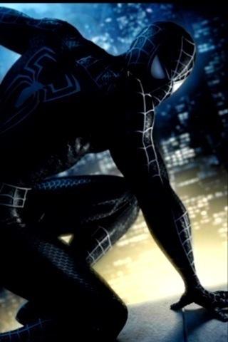 Symbiote Spidey iPhone Wallpaper
