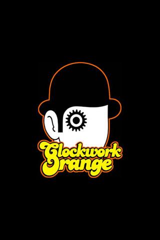 Clockwork Orange iPhone Wallpaper