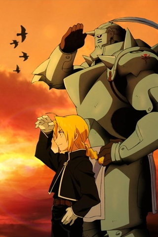 Full Metal Alchemist iPhone Wallpaper