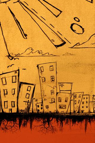 Growing City iPhone Wallpaper