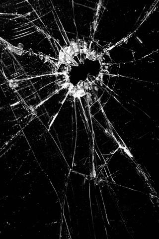 Gunshot iPhone Wallpaper