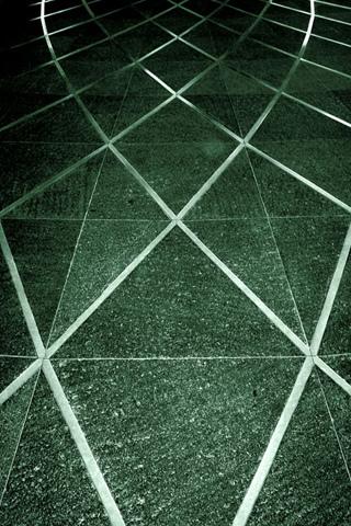 Floor Grid iPhone Wallpaper