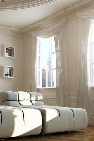 Bright Room iPhone Wallpaper