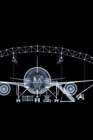 Hangar iPhone Wallpaper