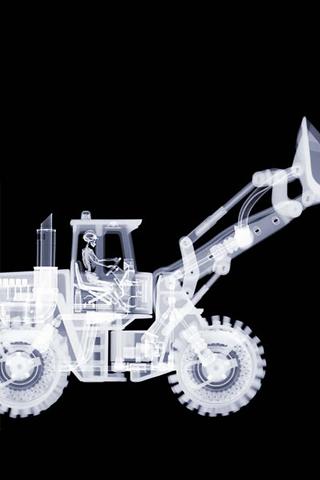 Bulldozer iPhone Wallpaper