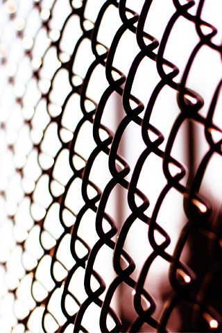 Chain Link iPhone Wallpaper
