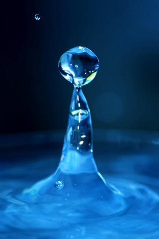 Water Man iPhone Wallpaper