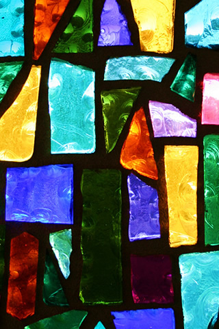 Stained Glass Window iPhone Wallpaper