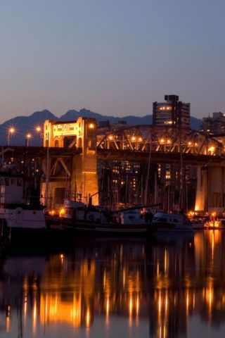 Harbor Bridge iPhone Wallpaper