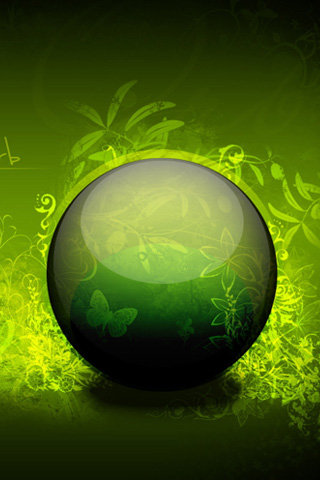 Earth Friendly iPhone Wallpaper