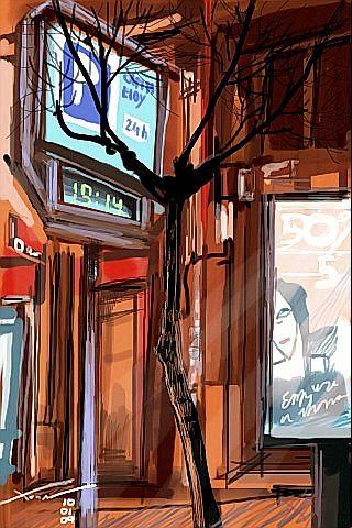 City Tree iPhone Wallpaper
