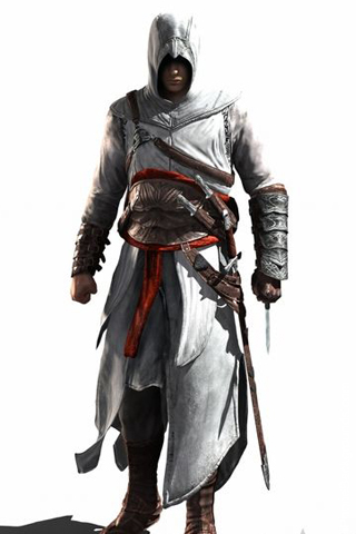 Desmond Miles iPhone Wallpaper