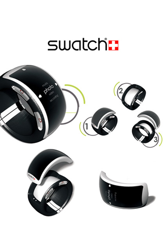 Swatch Watch iPhone Wallpaper