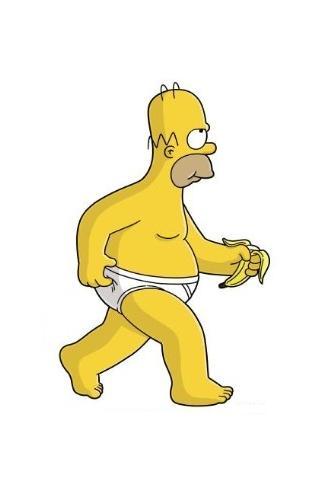 Homer iPhone Wallpaper