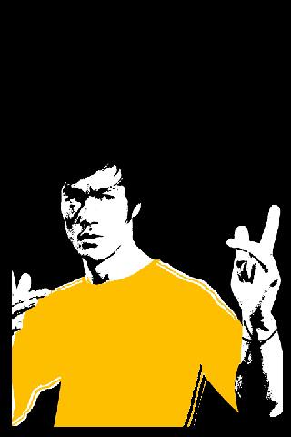 Bruce Lee iPhone Wallpaper
