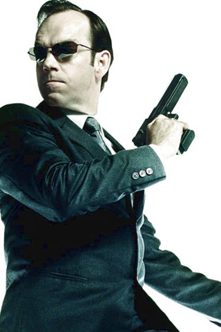 Agent Smith iPhone Wallpaper