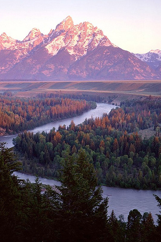 Snake River iPhone Wallpaper