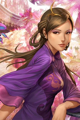 Kimono iPhone Wallpaper