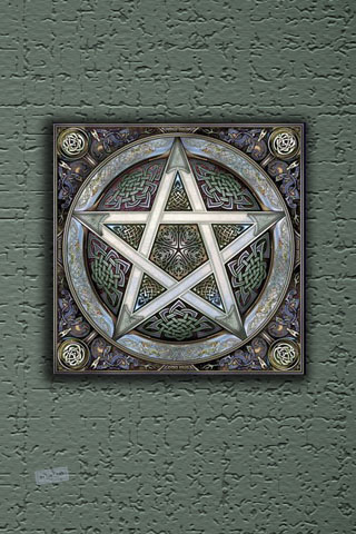 Pentagram iPhone Wallpaper