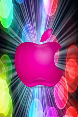 Disco Apple iPhone Wallpaper