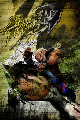 Sagat - Street Fighter IV iPhone Wallpaper