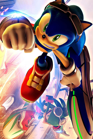 Lovely Sonic IPhone Wallpaper