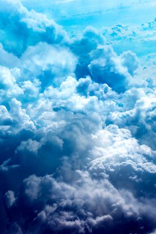 Storm Cloud iPhone Wallpaper