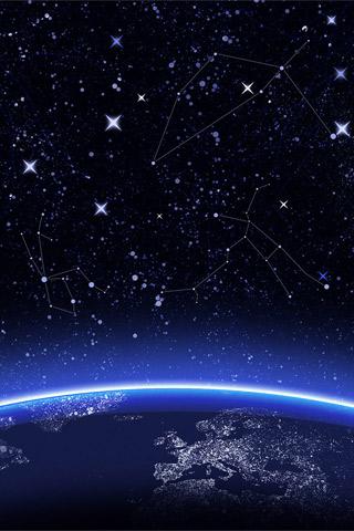 Constellations iPhone Wallpaper