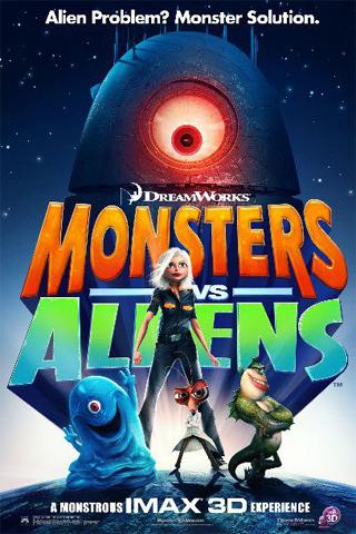 Monsters vs Aliens iPhone Wallpaper