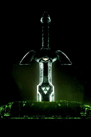 Master Sword iPhone Wallpaper