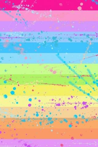 Pastel Rainbow Iphone Wallpaper Idesign Iphone