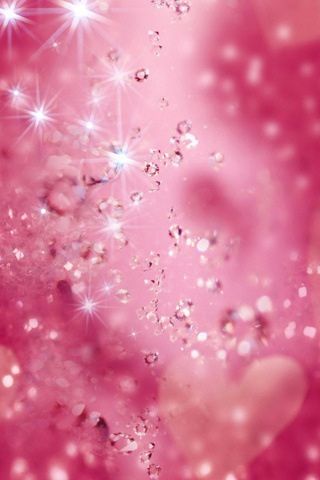 Pink Diamonds iPhone Wallpaper