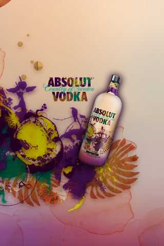 Absolute Vodka iPhone Wallpaper
