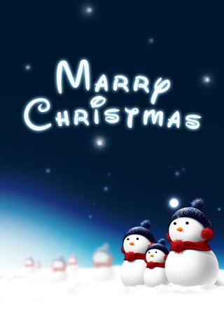 Merry Christmas iPhone Wallpaper