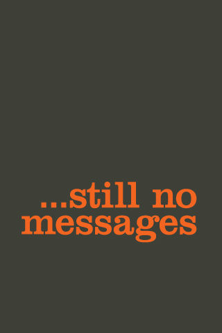 ...still no messages iPhone Wallpaper